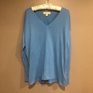 🎀 Blue Michael Kors tunic size L